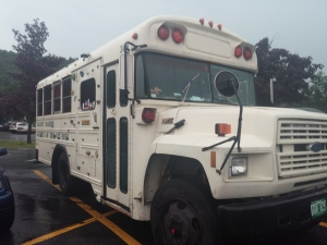 our bus July