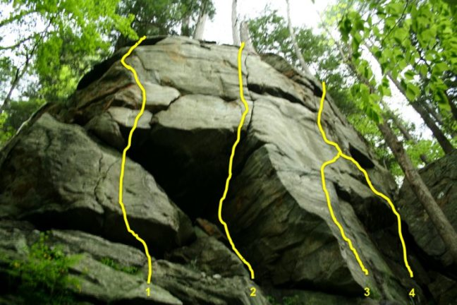 rock climbing Jamica VT